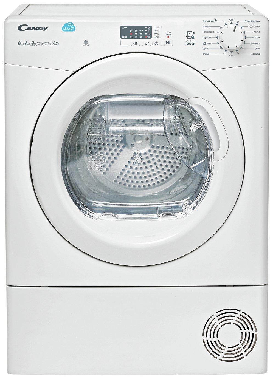 Candy CSH82LE 8KG Heat Pump Tumble Dryer - White