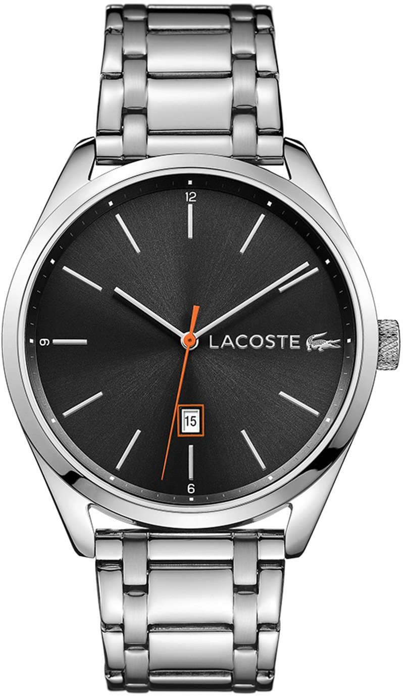 Lacoste Men's Silver Stainless Steel Bracelet Watch
