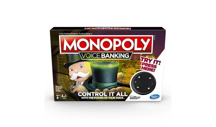 Monopoly Voice Banking from  Hasbro Gaming