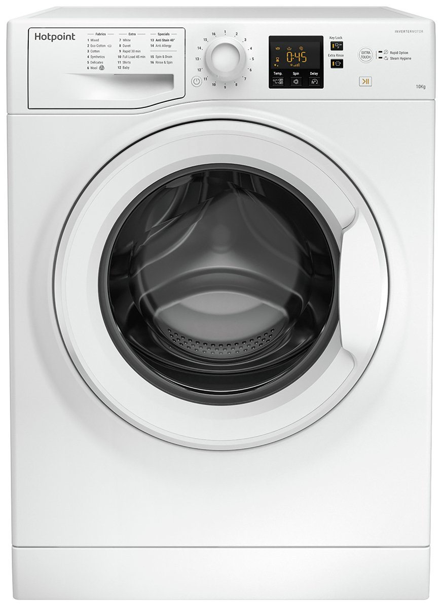 Hotpoint NSWM1043CW 10KG 1400 Spin Washing Machine - White