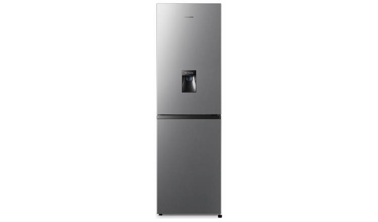 Hisense RB327N4WC1 Frost Free Fridge Freezer - Silver