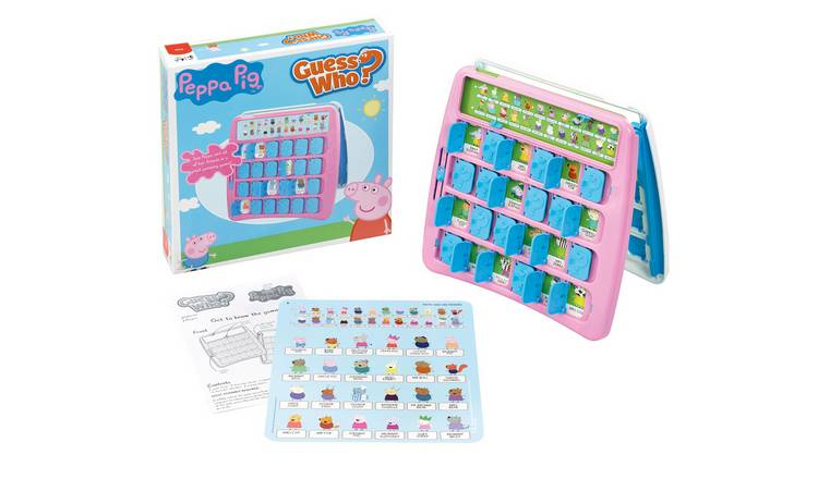 Peppa Pig Guess Who Board Game