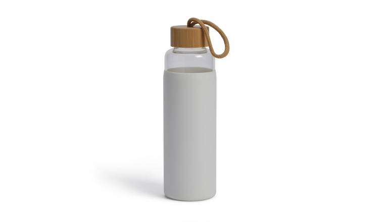Habitat Glass Water Bottle - 500ml