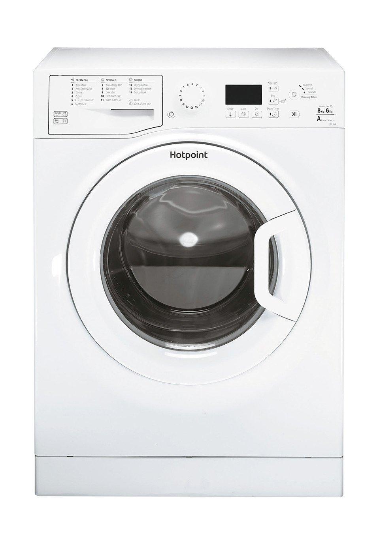 Hotpoint FDL8640P 8KG / 6KG 1400 Spin Washer Dryer - White