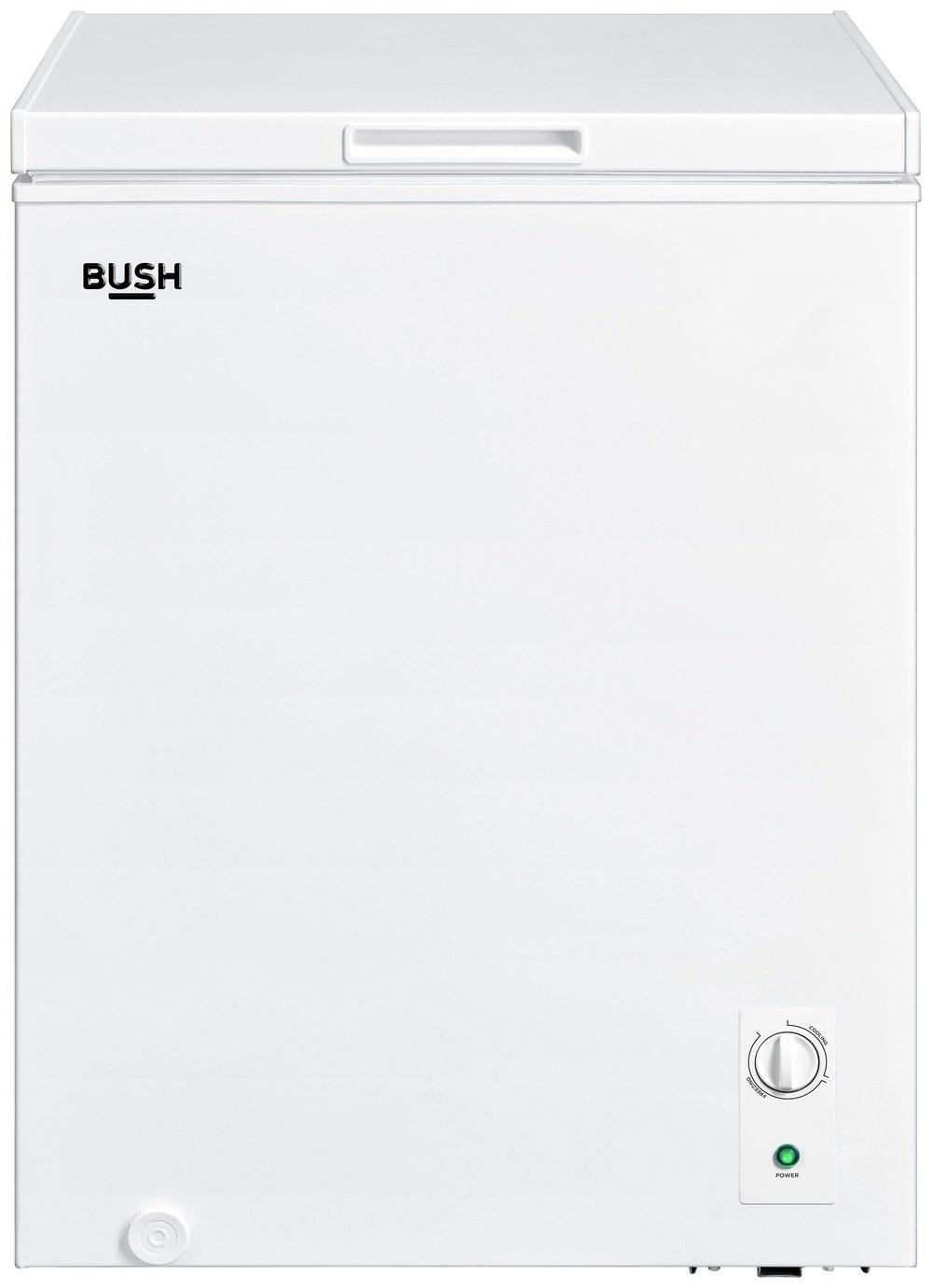 Bush BECF142L Chest Freezer - White