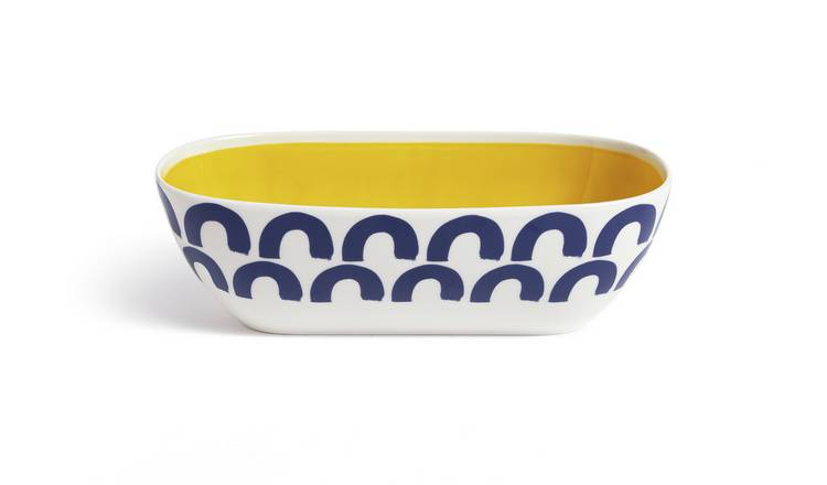 Habitat Mix it up Large Ceramic Serving Bowl