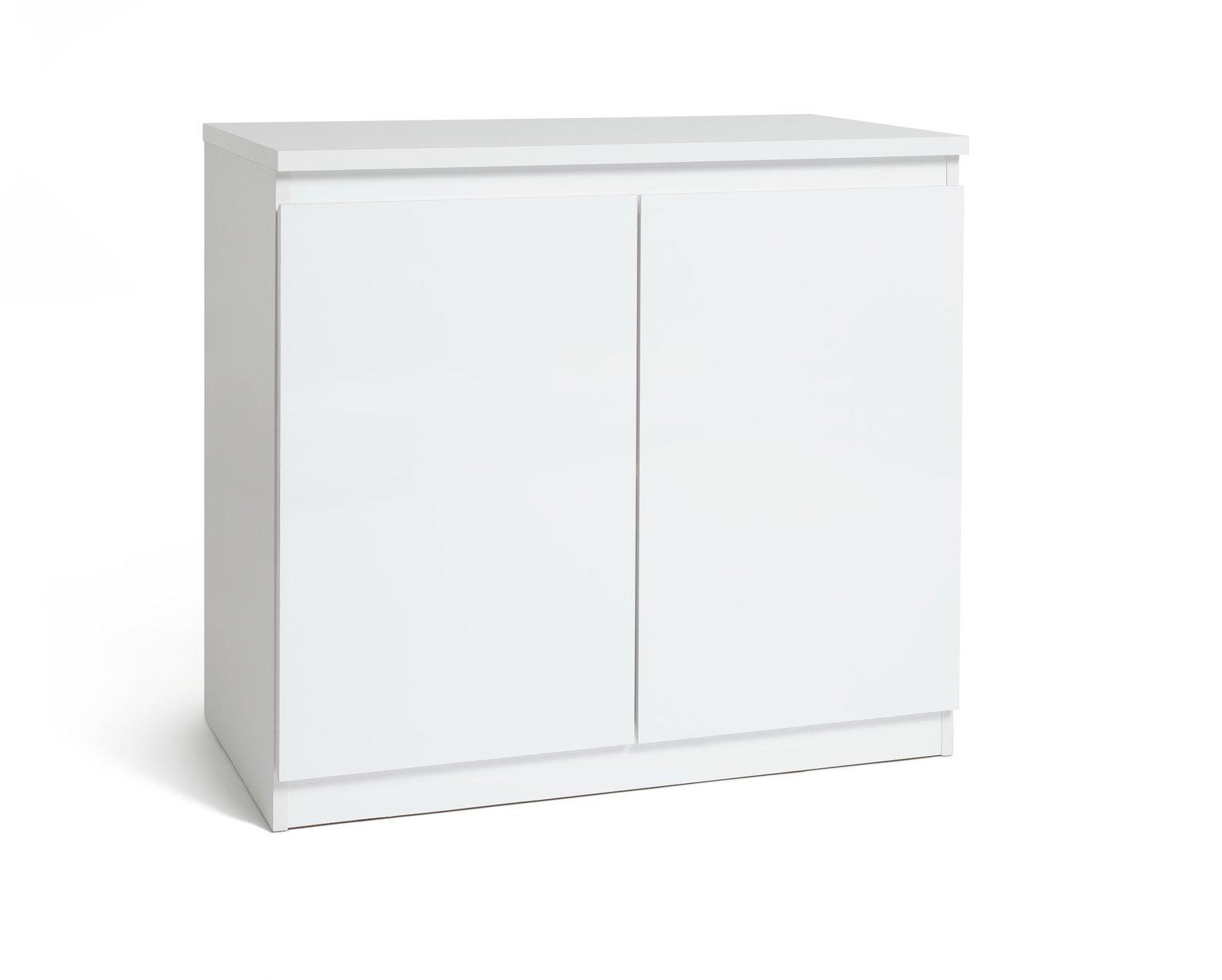 Habitat Jenson 2 Door Sideboard - White