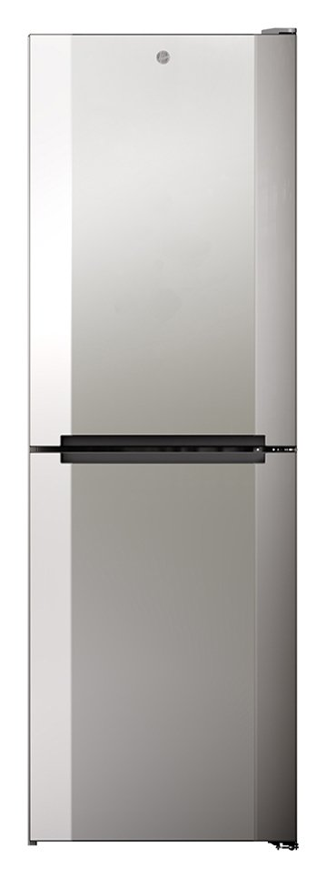 Hoover HMNB 6182X5KN Frost Free Fridge Freezer - Silver