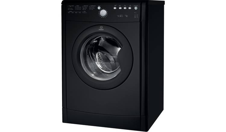 Indesit Ecotime IDVL75BRK.9 7KG Vented Tumble Dryer - Black