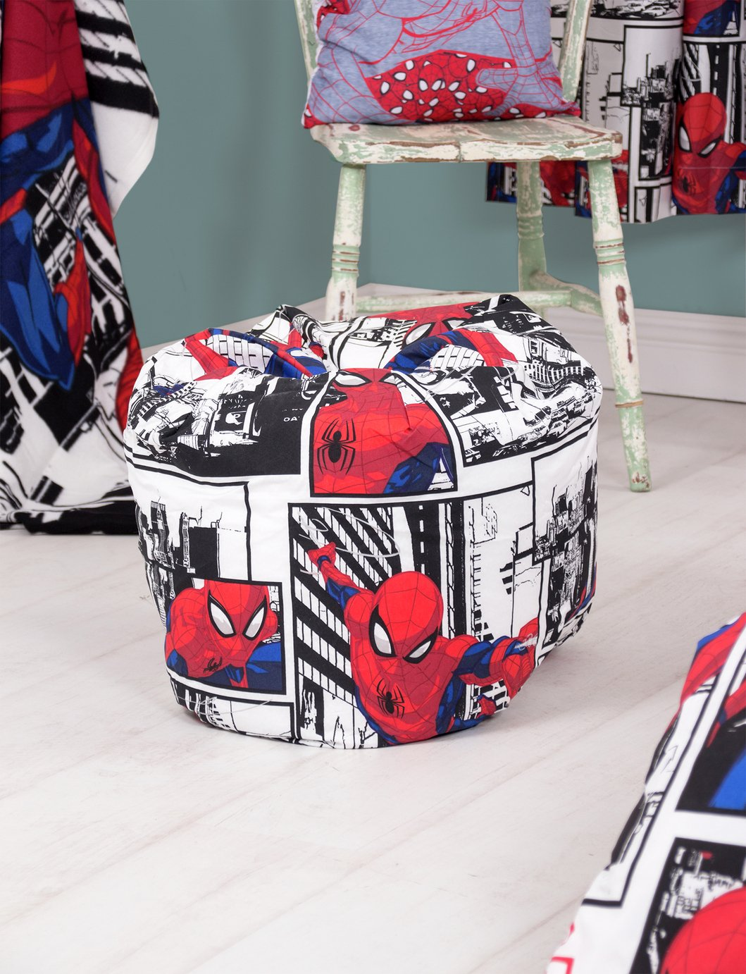 Marvel Spiderman Metropolis Bean Bag