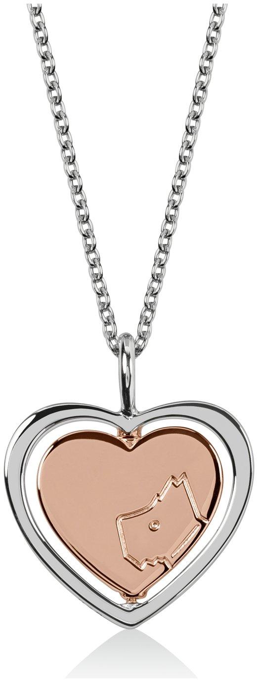 Radley London Stirling Silver Heart Charm Pendant