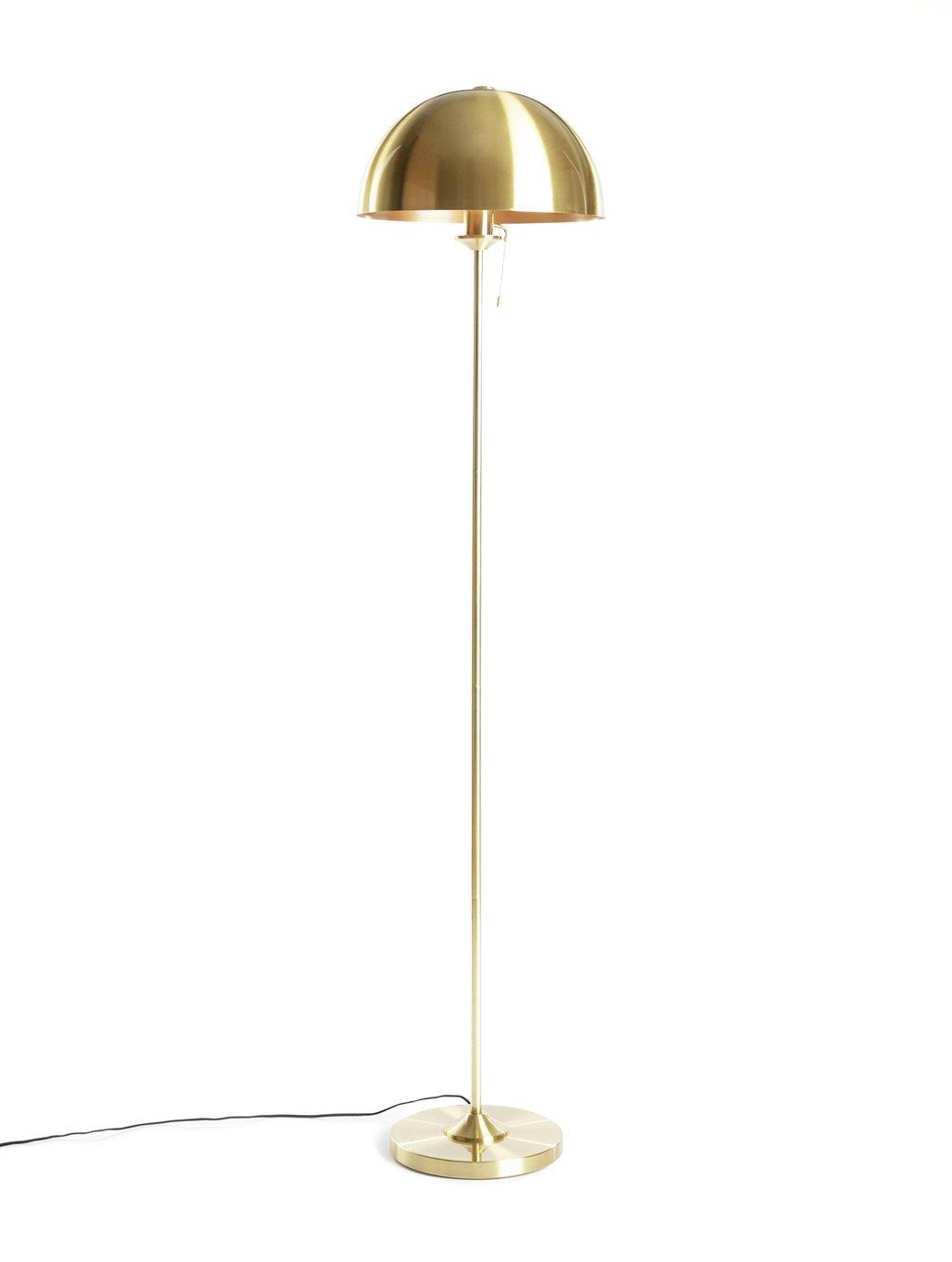 Habitat Mannor House Floor Lamp - Brass