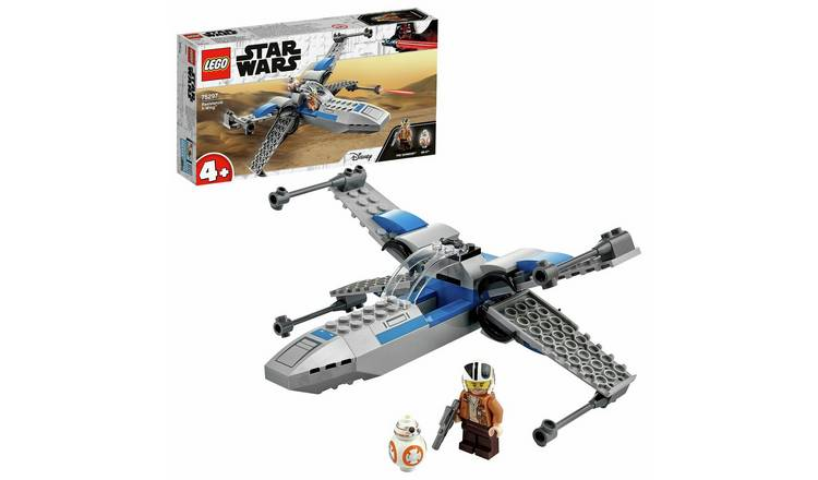 LEGO Star Wars 4+ Resistance X-Wing Starfighter Set 75297