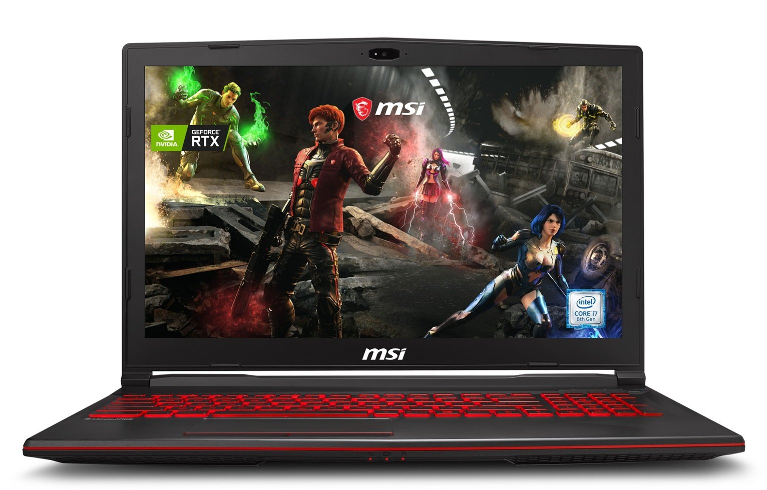 MSI GL63 15.9 Inch i7 16GB 128GB RTX2060 Gaming Laptop