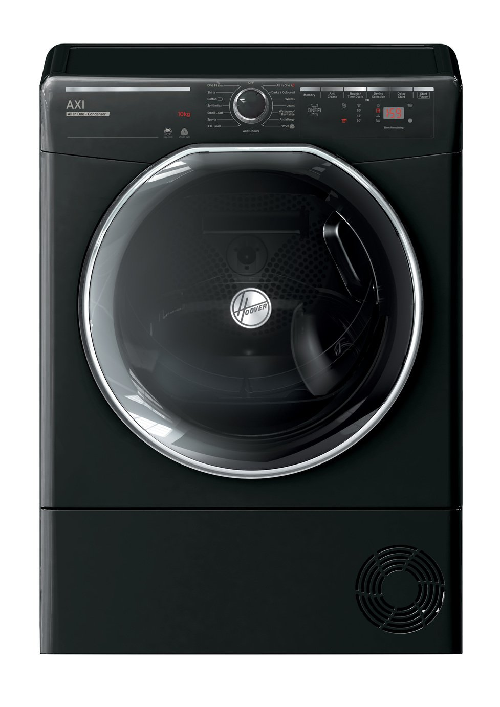 Hoover AXI ATDC9TKEB 9KG Condenser Tumble Dryer - Black