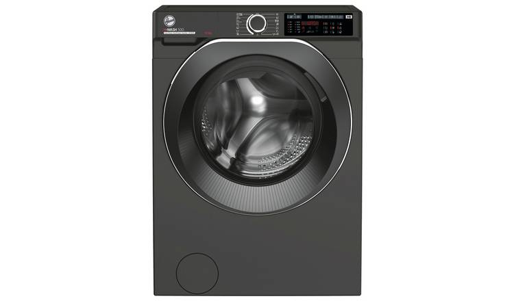 Hoover H-WASH 500 10KG Caredose Washing Machine - Graphite