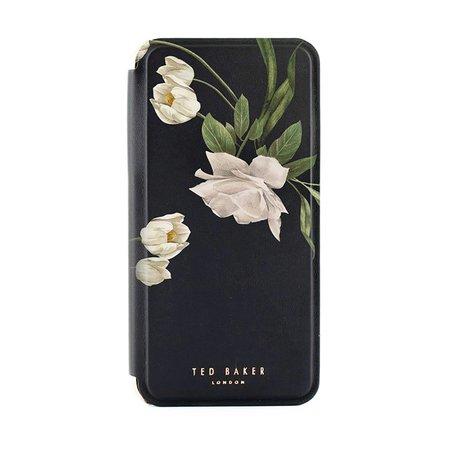 Ted Baker iPhone 11 Pro Elderflower Folio Phone Case - Black
