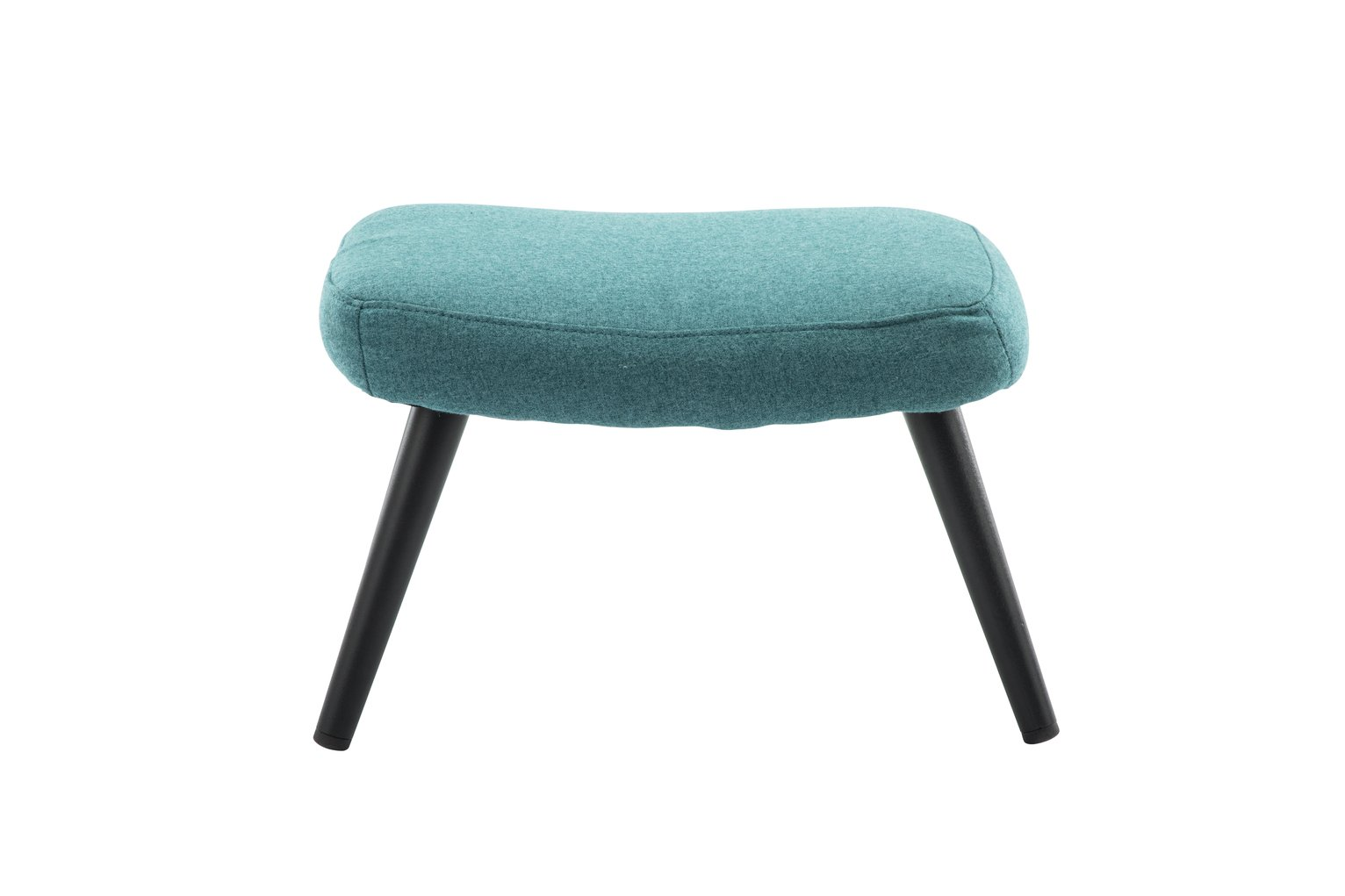 Argos Home Ollie Fabric Footstool - Teal