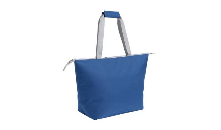 Argos Home Blue Cooler Tote Bag - 20L