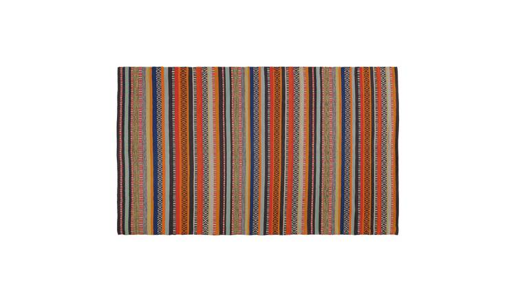 Habitat Edith Cotton Rug - 120 x 180cm - Multicoloured