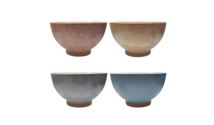 Habitat Roxy Set of 4 Cereal Bowls