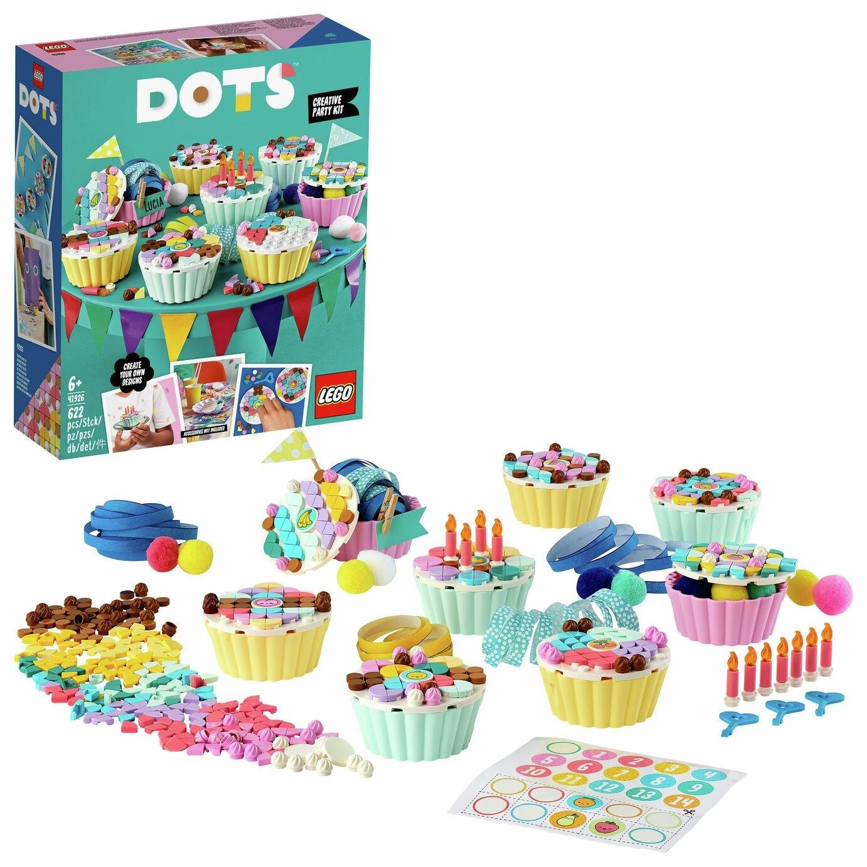 LEGO DOTS Creative Party Kit Birthday Cupcakes Set 41926