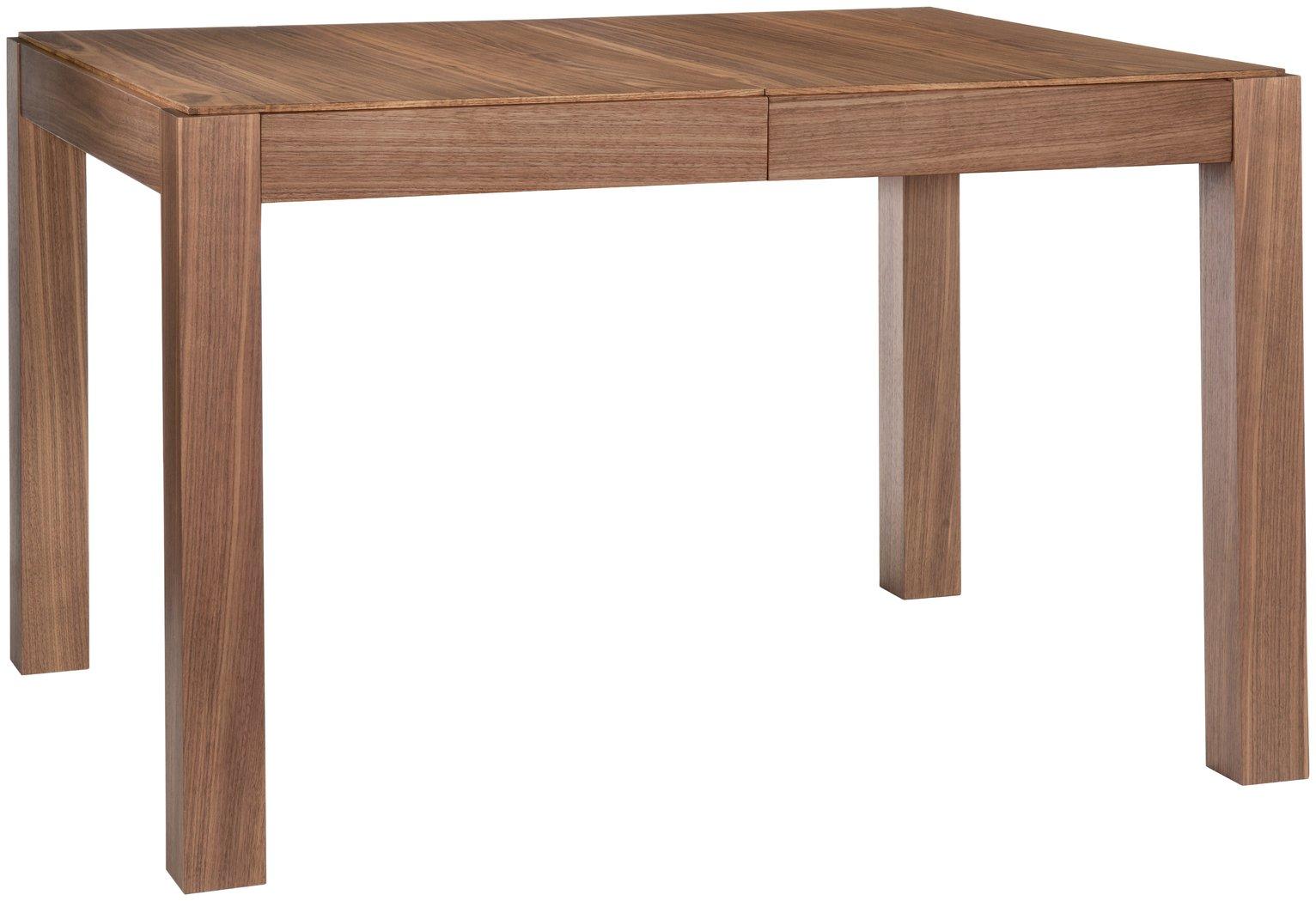 Habitat Drio Extending Walnut 4-10 Seater Dining Table