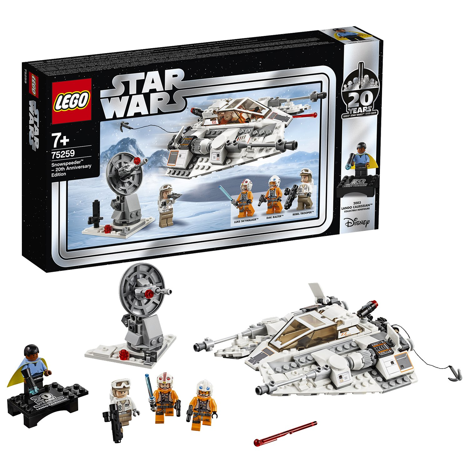LEGO Star Wars 20th Anniversary Snowspeeder - 75259