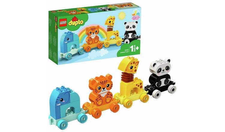 LEGO DUPLO My First Animal Train Toy for Toddlers 10955