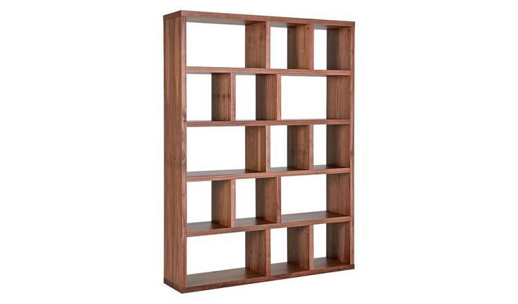 Habitat Hopkins Walnut Veneer Bookcase