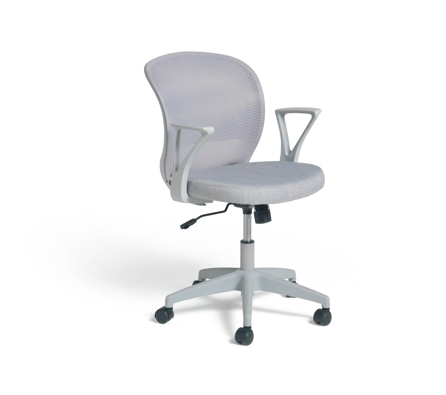 Habitat Beck Mesh Office Chair - Grey