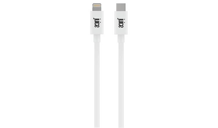 Juice AppMatch USB C to Lightning 1m Charge Cable - White