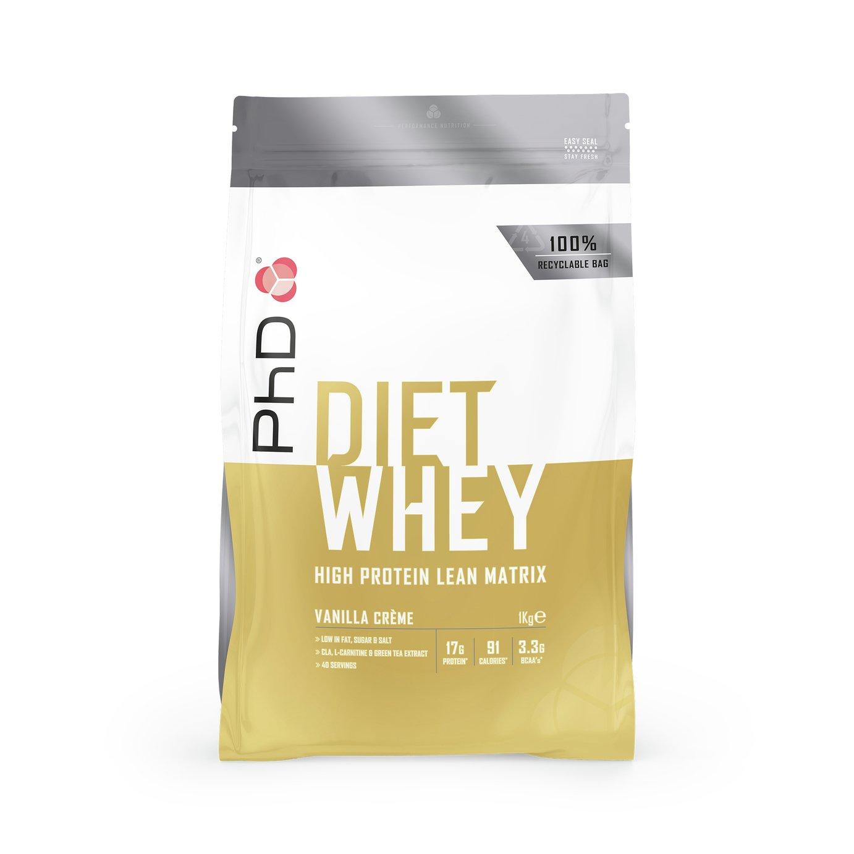 PhD Vanilla Creme Diet Whey - 1kg