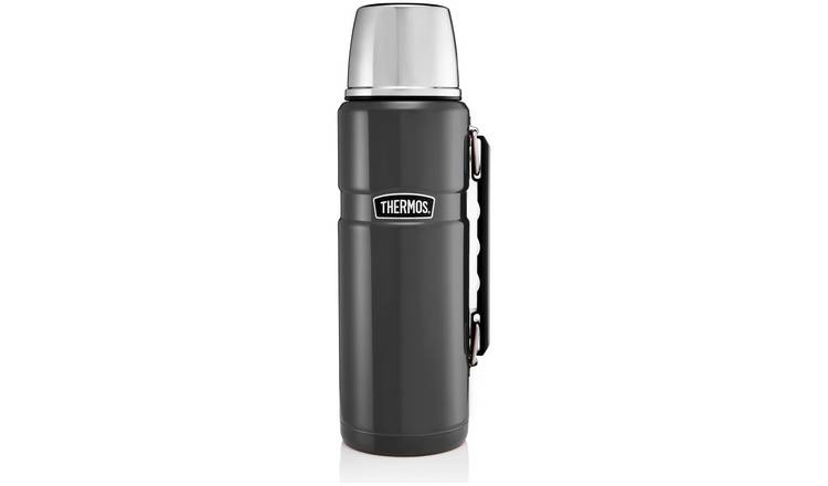 Thermos 1.2 Litre Stainless Steel King Flask - Gunmetal Grey