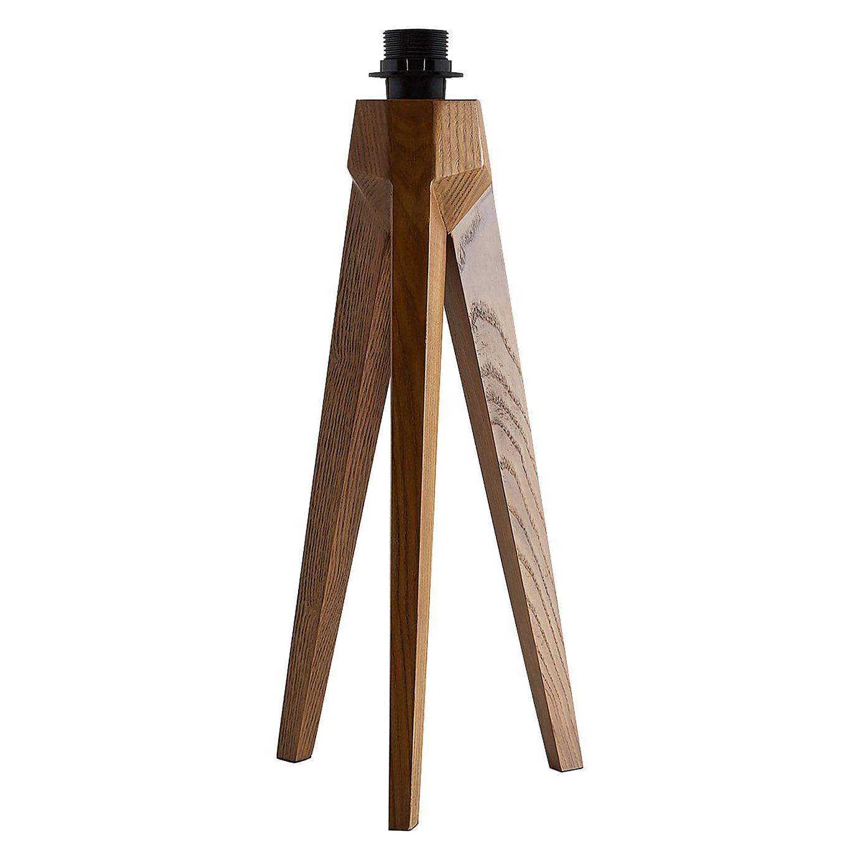Habitat Tripod Table Lamp Base - Walnut Stain