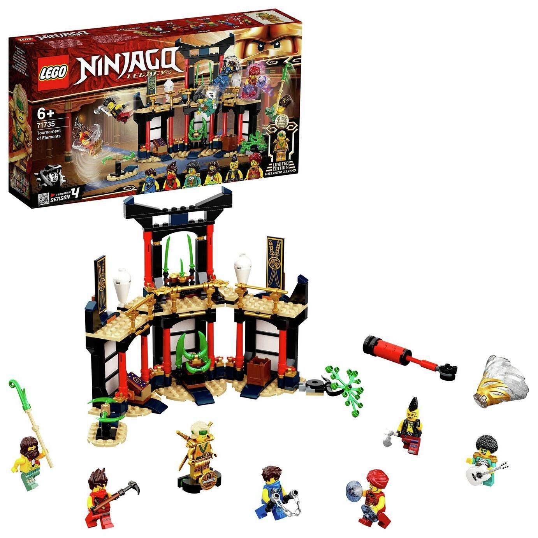 LEGO NINJAGO Legacy Tournament of Elements Temple Set 71735