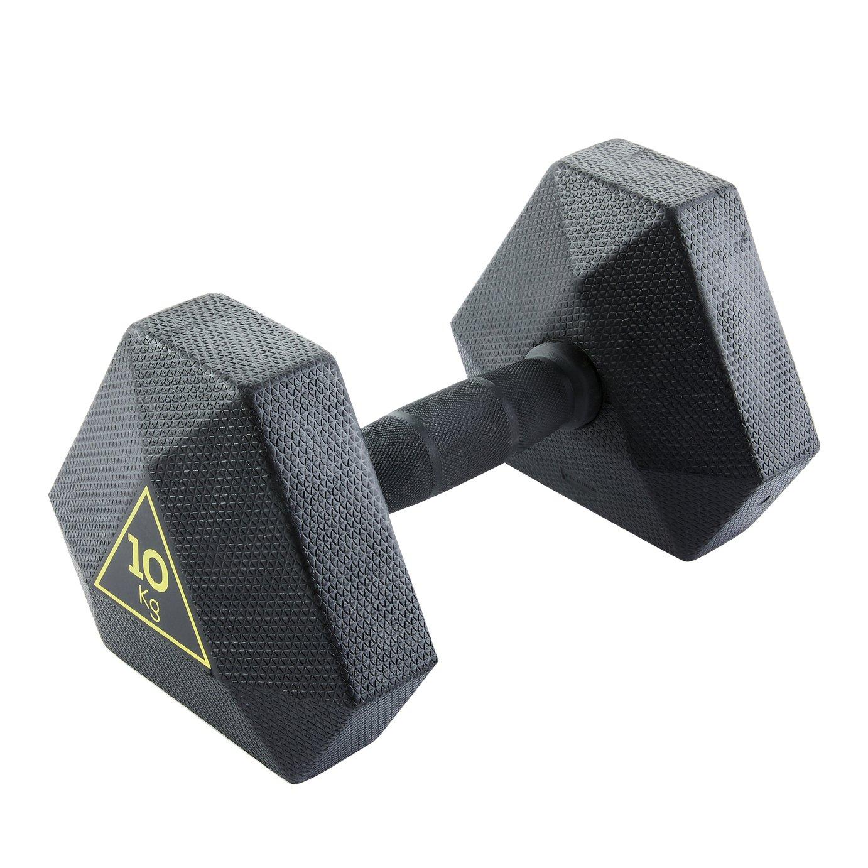 Decathlon Hex Dumbbell - 10kg