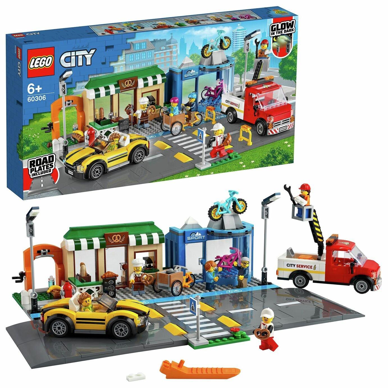 LEGO City Einkaufsstraße mit Geschäften (60306)