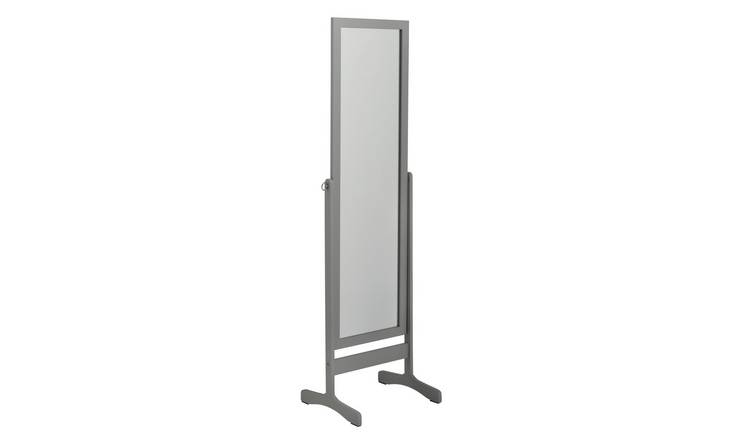 Argos Home Free Standing Cheval Mirror - Grey