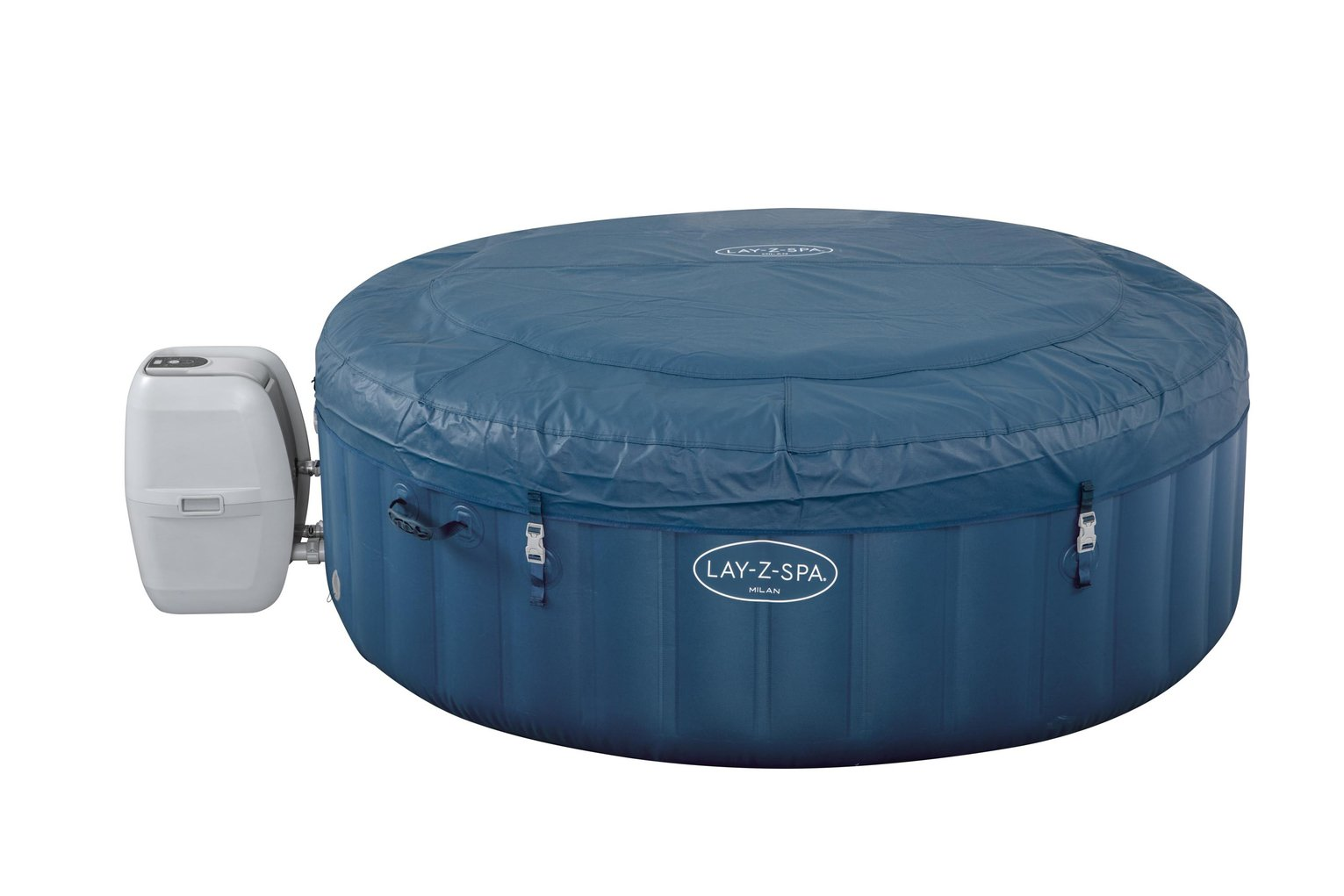 Lay-Z-Spa Milan 6 Person Smart Hot Tub - Home Delivery Only