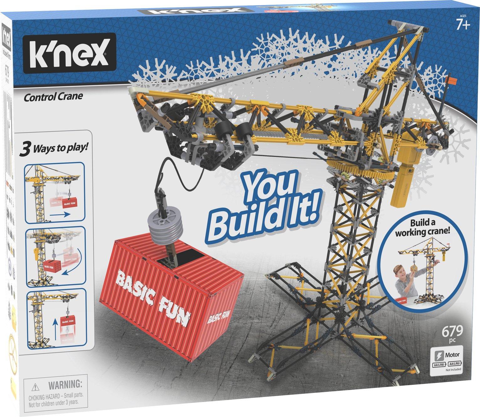 K'NEX Control Crane Construction Set