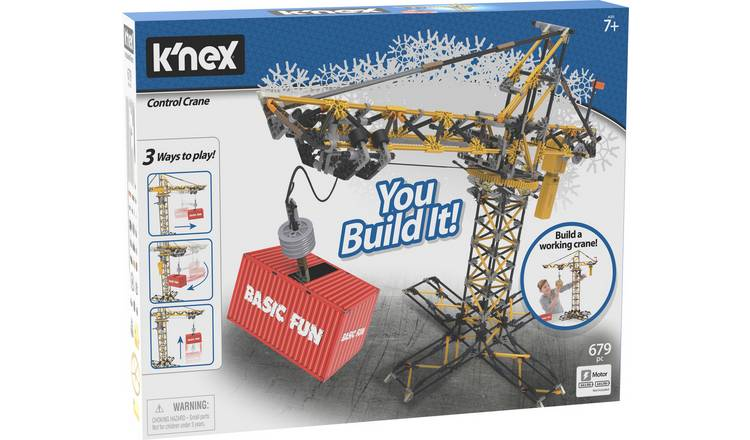 K'NEX Control Crane Construction Set