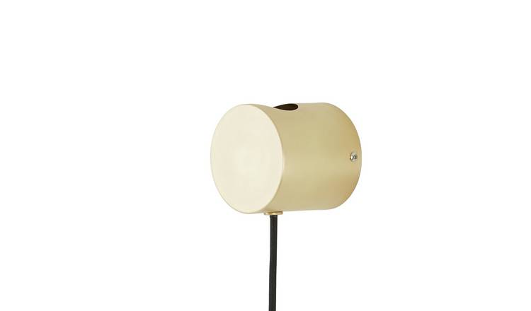 Habitat Wells Wall Light - Brass