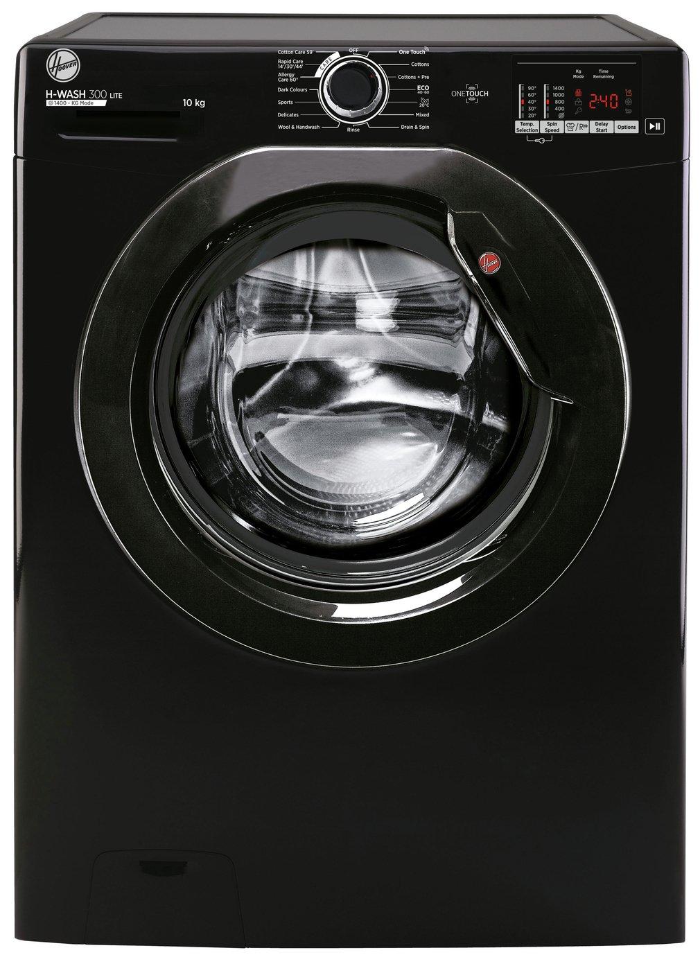 Hoover AH3W 4102DBBE 10KG 1400 Spin Washing Machine - Black