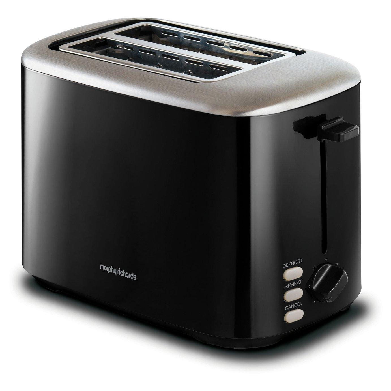 Morphy Richards 222064 Equip 2 Slice Toaster - Black