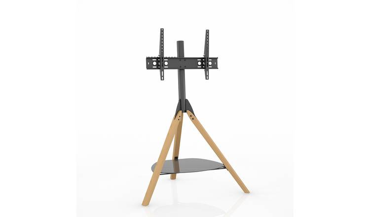 AVF Hoxton Tripod Up to 65 Inch TV Stand - Light Wood Effect