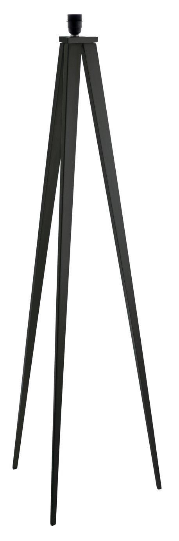Habitat Yves Metal Floor Lamp Base Only - Black