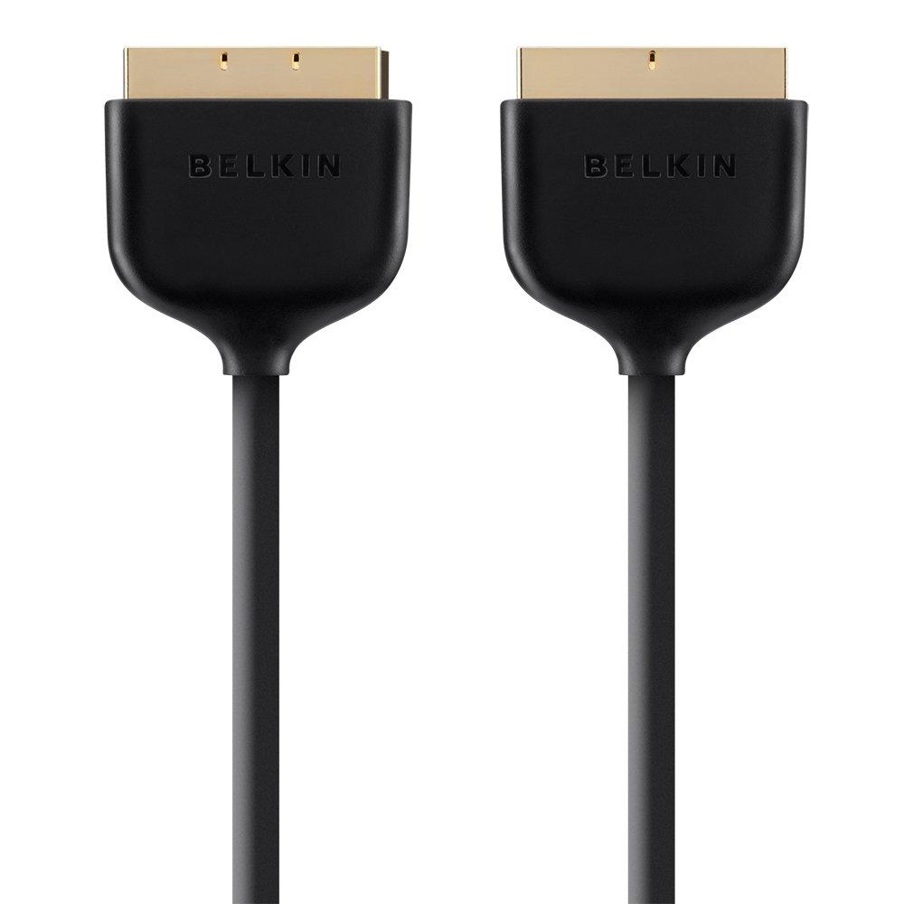 Belkin 2m Scart Cable - Black