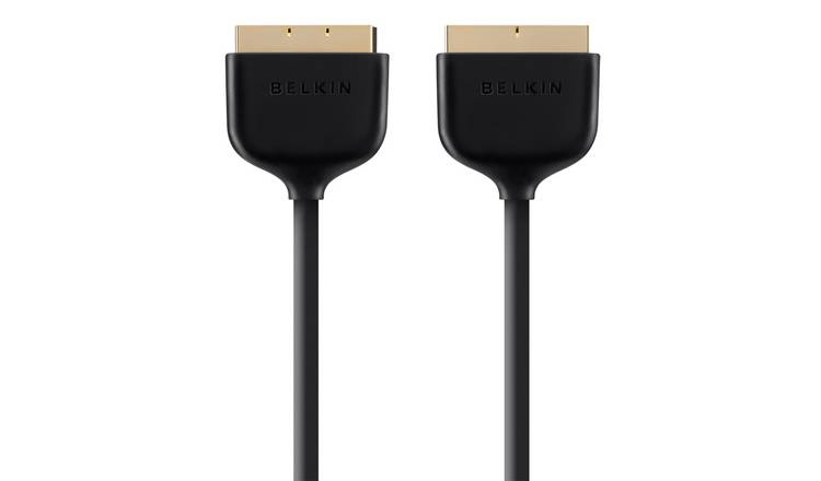 Belkin 2m Scart Cable - Black