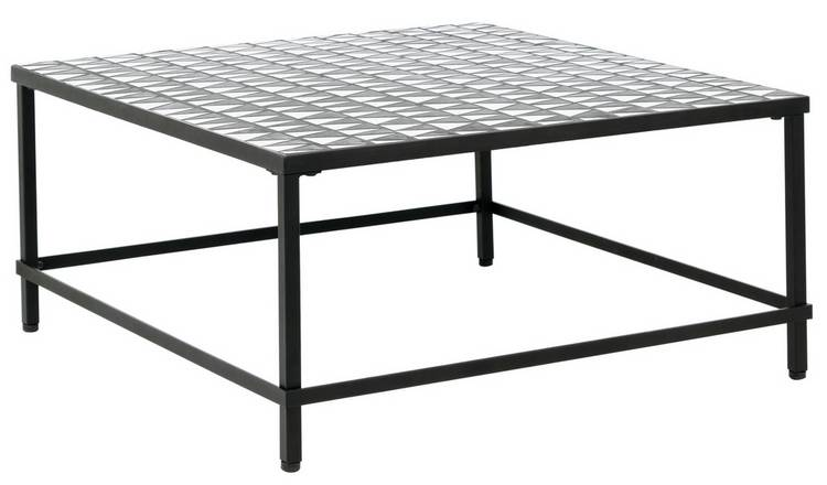 Habitat Becklen Square Coffee Table - Black